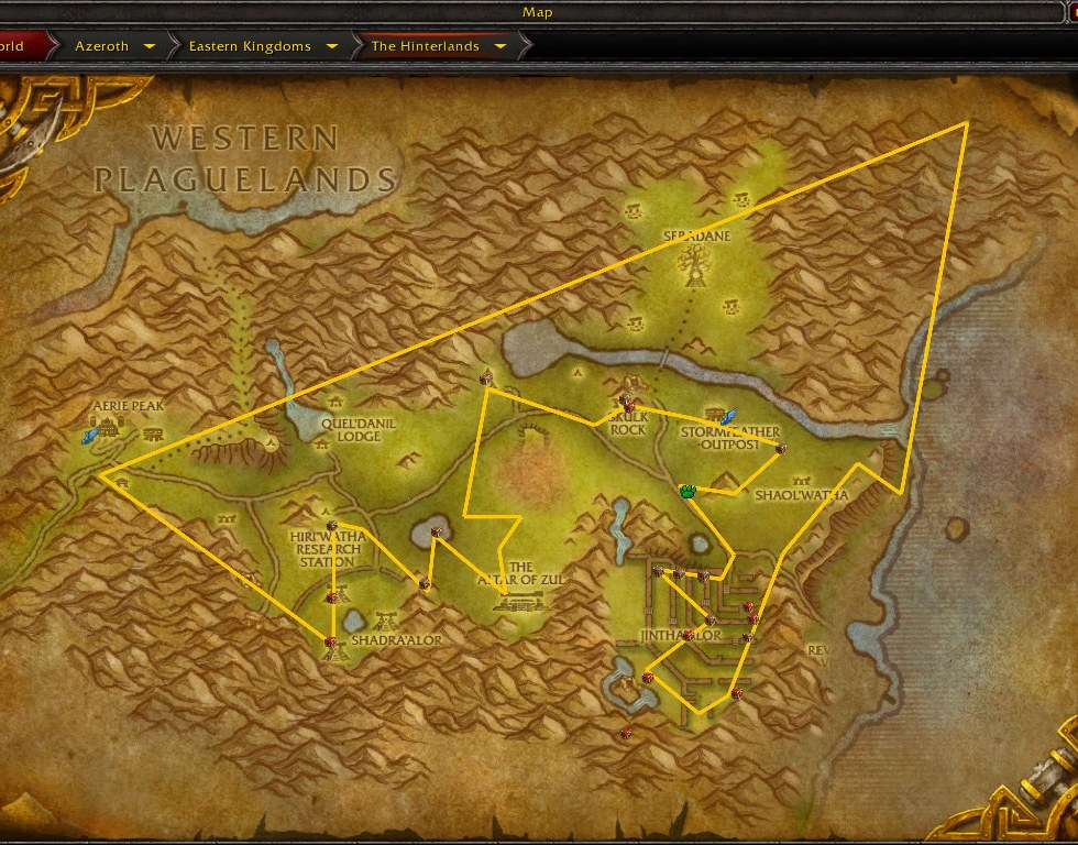 Golden Routes – World of Warcraft Gold Guides