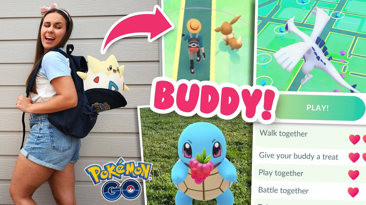 pokemon go how to level buddy pokemon